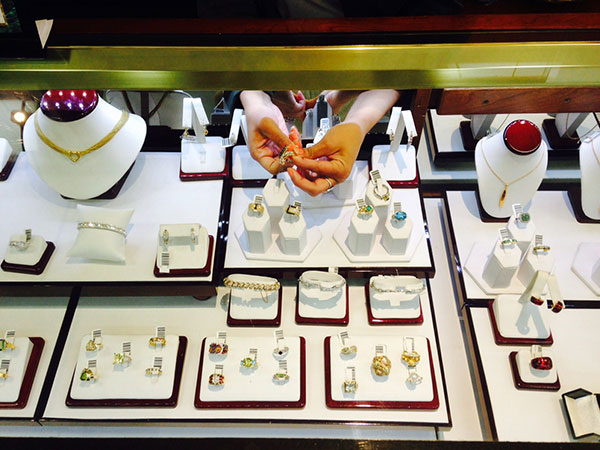 Rosewood Jewelry Displays
